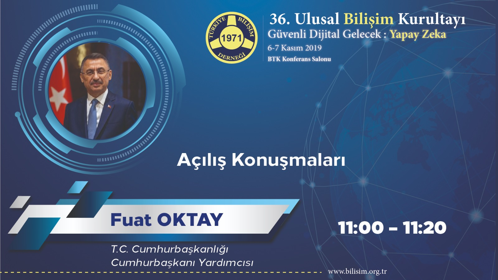 Fuat OKTAY - 36. Ulusal Bilişim Kurultayı