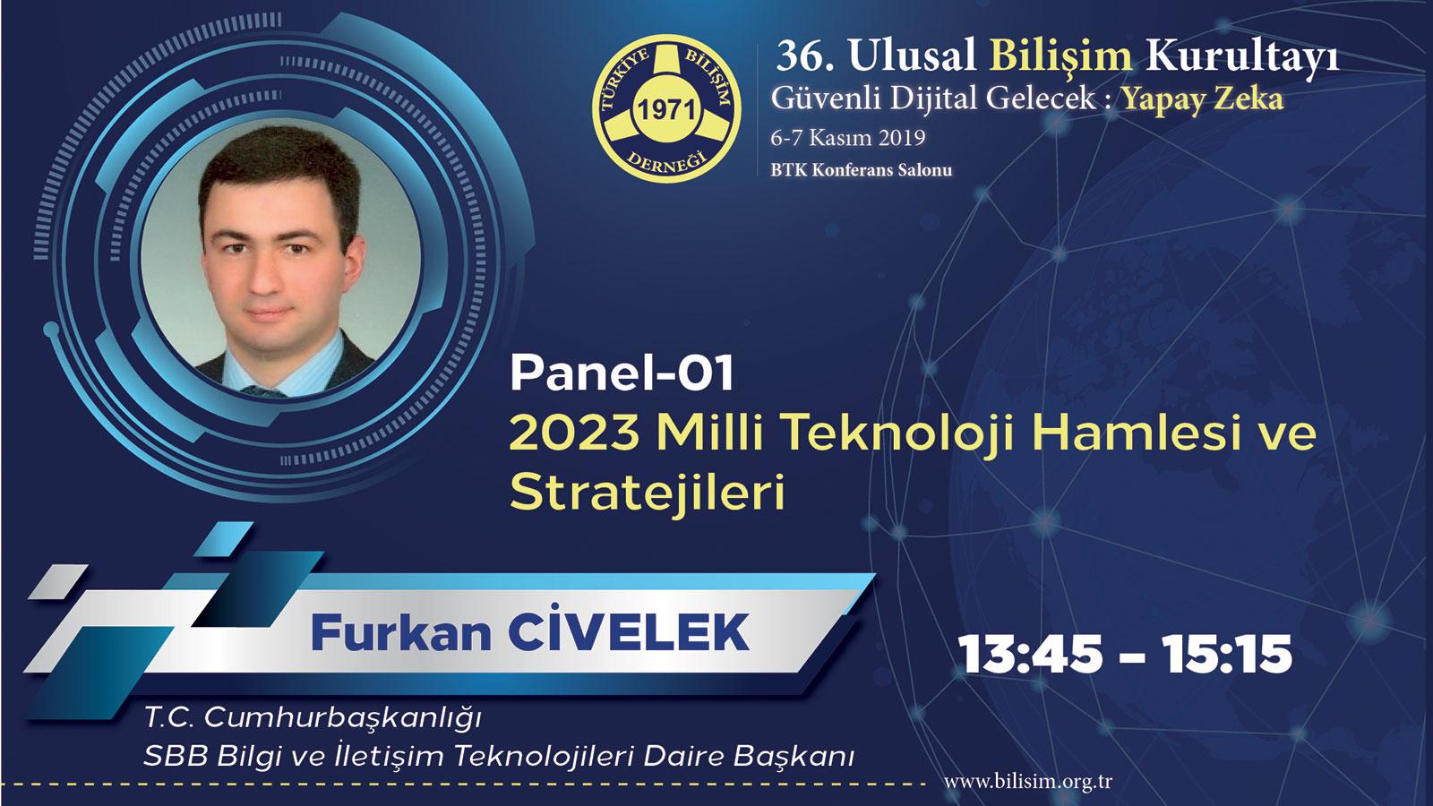 Furkan CİVELEK - 36. Ulusal Bilişim Kurultayı