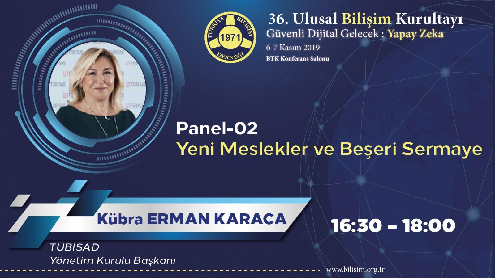Kübra ERMAN KARACA - 36. Ulusal Bilişim Kurultayı