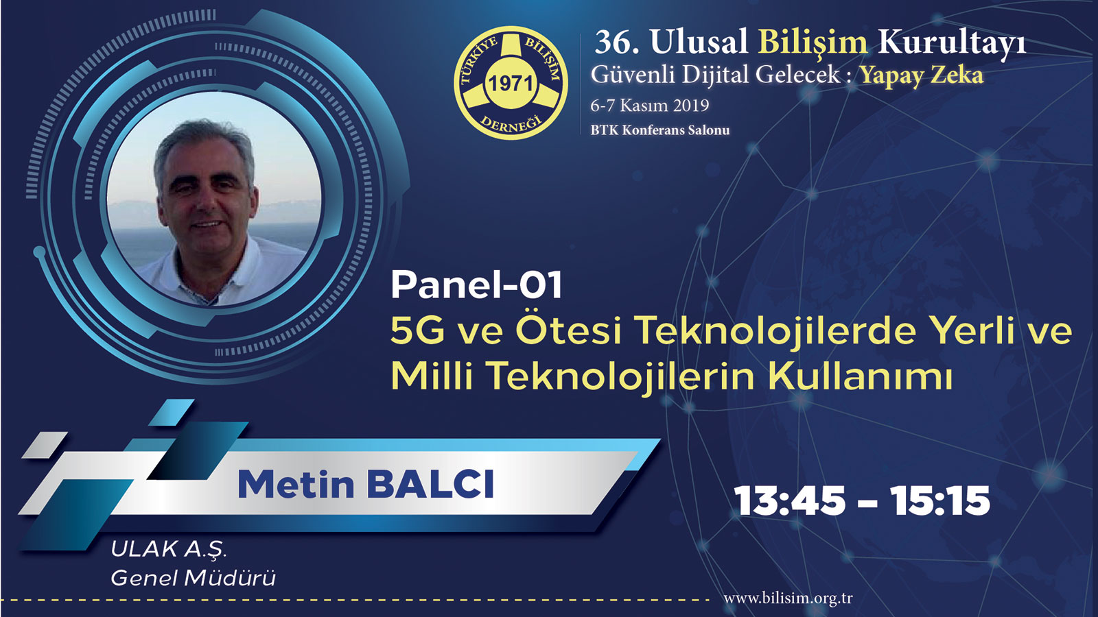 Metin BALCI - 36. Ulusal Bilişim Kurultayı