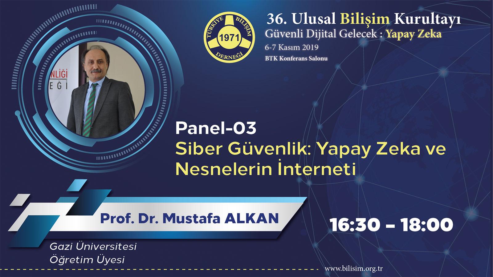 Mustafa ALKAN - 36. Ulusal Bilişim Kurultayı