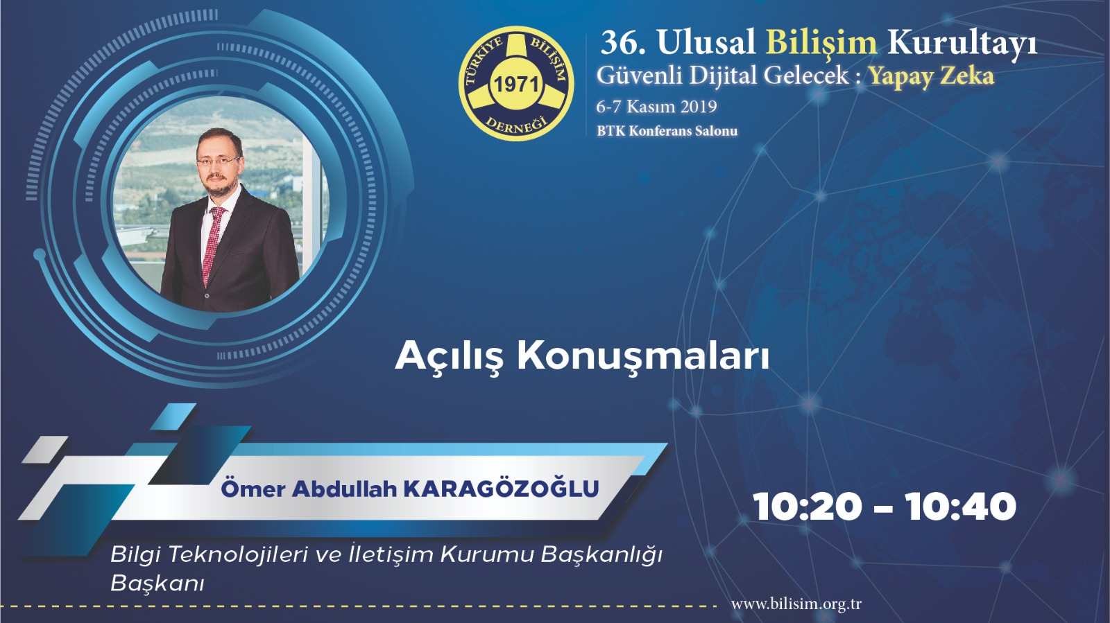 Ömer Abdullah KARAGÖZOĞLU - 36. Ulusal Bilişim Kurultayı