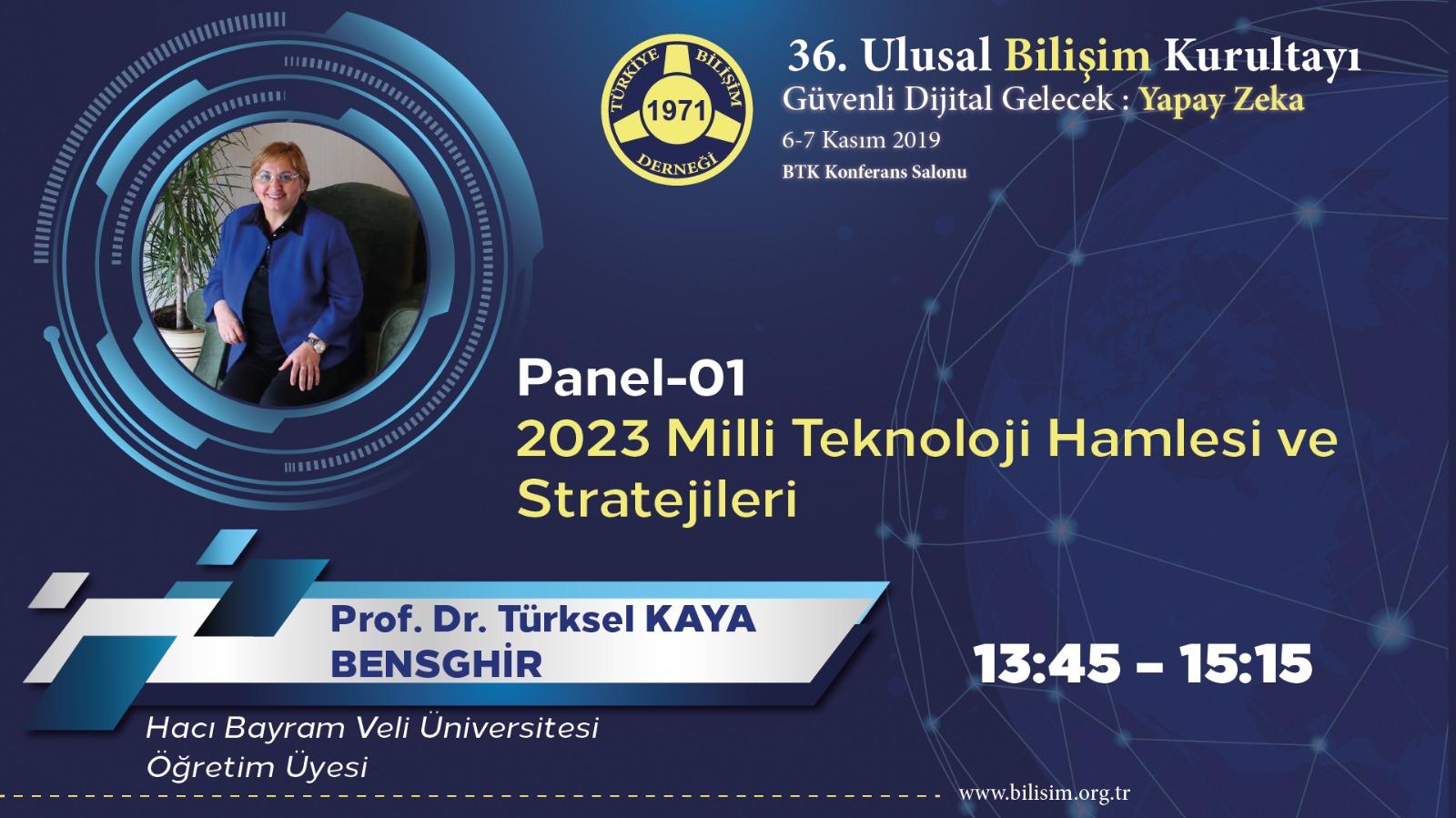 Türksel KAYA BENSGHİR - 36. Ulusal Bilişim Kurultayı