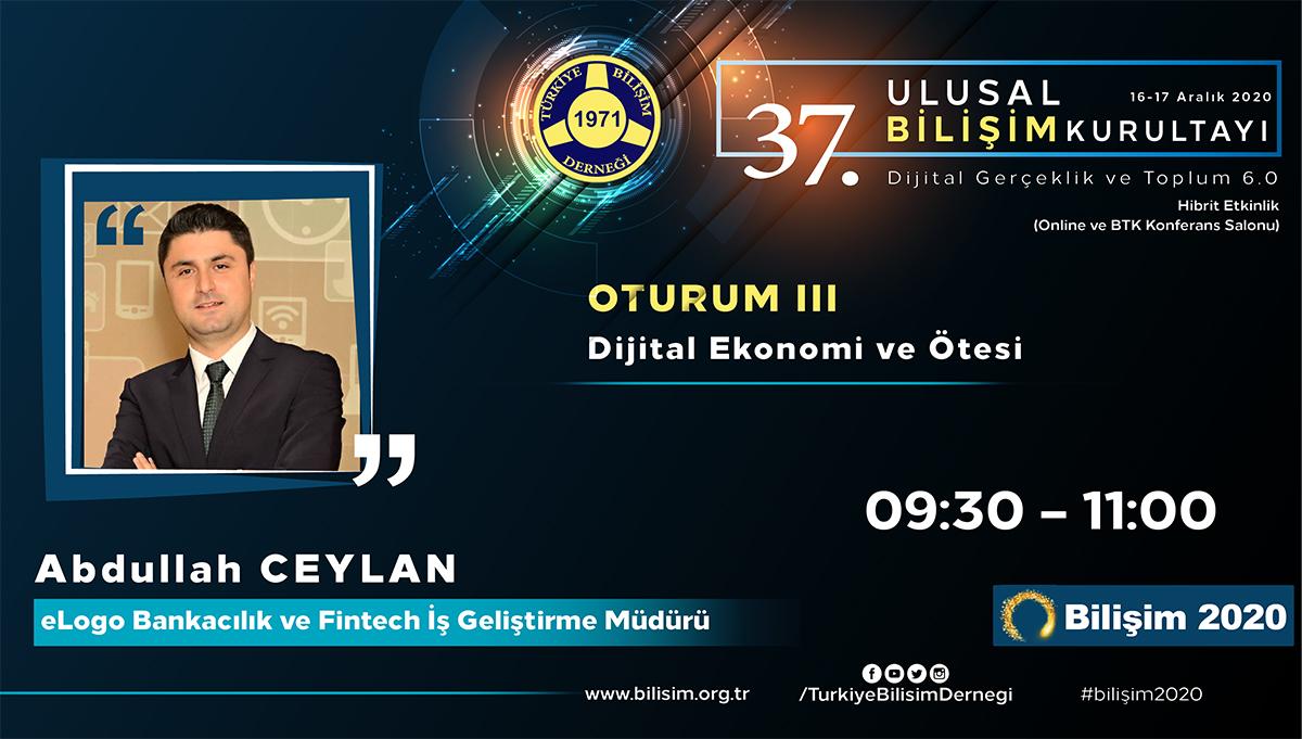 Abdullah CEYLAN - 37. Ulusal Bilişim Kurultayı 2020
