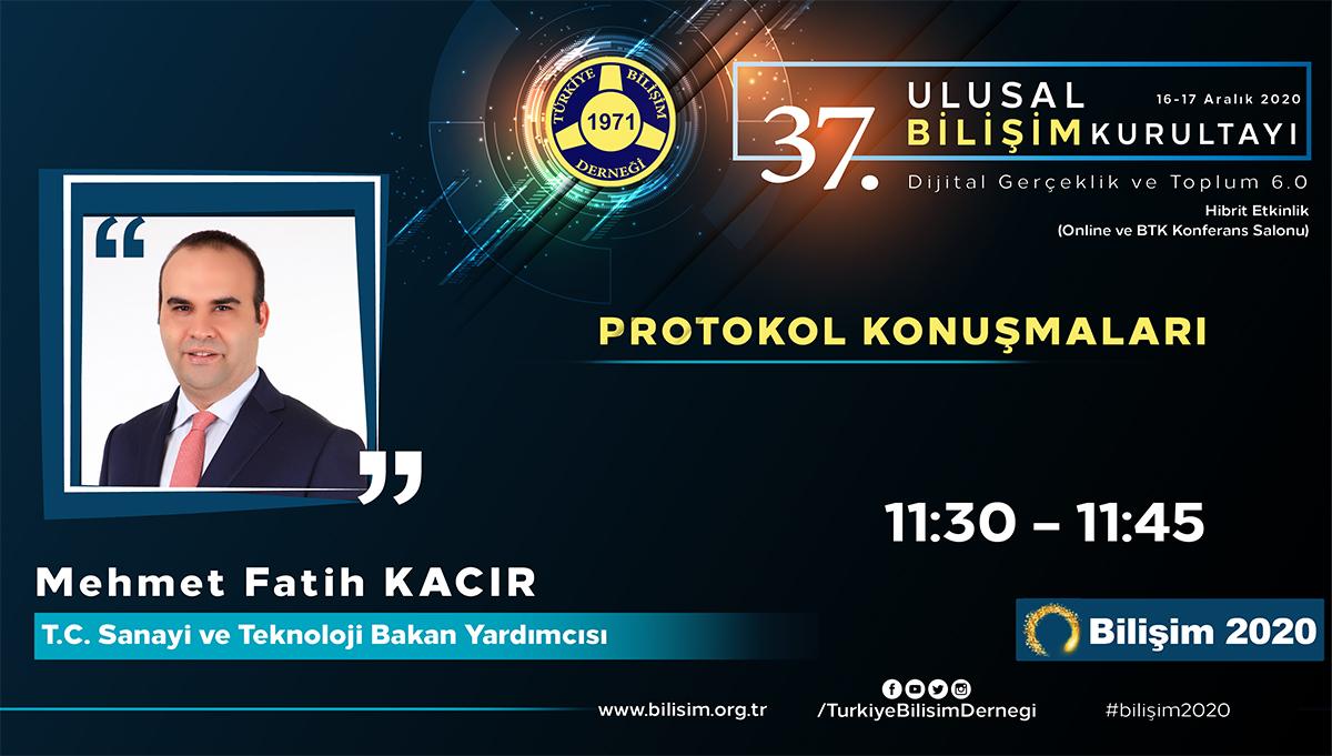 Mehmet Fatih KACIR - 37. Ulusal Bilişim Kurultayı 2020